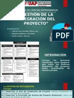 Gestion Para La Integracion Del Proyecto