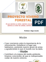 Proyecto Vivero Forestal Power Point