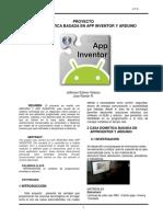 CASA DOMOTICA Con App Inventor
