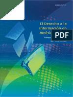 El Derecho a La Información en América Latina