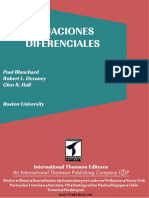 Ecuaciones Diferenciales - Blanchard, Devaney, Hall 2da Edición