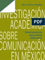 La Investigación Académica Sobre Comunicación en México