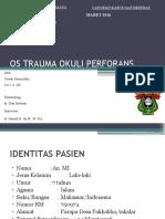 Os Trauma Oculus Perforans