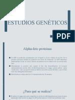 estudios geneticos