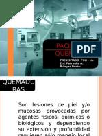 CLASE QUEMADURAS