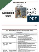 7 EDUC FISICA IV CICLO 4º grado.doc