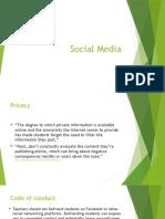 social media and teachers