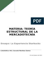 Ensayo Starbucks