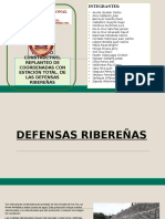 DEFENSAS - RIBEREÑAS