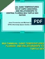 Multi Annual Sand Temperatures