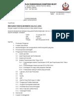 Surat Panggilan Mesyuarat Panitia MATEMATIK KALI-1, 2016 SKKB