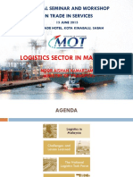 Logistics Sector in Malaysia (15062015)