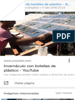 Invernaculos de Botellas de Plastico