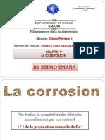 Chapitre v La Corrosion