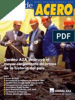 Alma de Acero - Gerdau AZA - 2008 - Enero