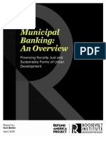 Municipal Banking - An Overview
