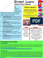 esl newsletter october
