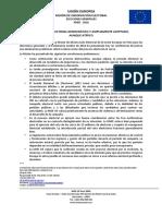 Comunicado sobre el informe preliminar MOE UE Perú 2016