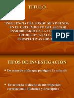2010. 06.05 Diapositivas Proyecto de Ivestigación
