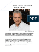 2016-04-11 Apoya _Amor X México_ propuestas de Enrique Serrano
