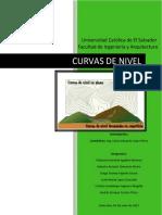 REPORTE Curvas de Nivel