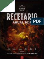 Recetario Anual SMP 2014