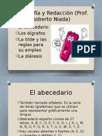 Ortografía y Redacción - La Tilde y Las Reglas Para Su Uso