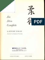 Jiu Jitsu Complete - Nakae 1958