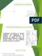 Exposicion Distribucion en La Planta