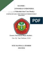 Pengaruh Kenaikan Bbm Terhadap Perekonomian Indonesia