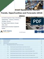 Global Broadcast Equipment Market