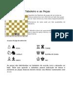 O Tabuleiro e as Peças - xadrez