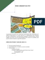 Aplicación Normas Urbanisticas Pot Bucaramnga