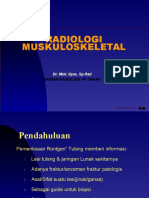 Radilogi Muskuloskeletal