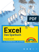 Excel - Sparbuch