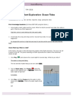 12 ocean tides explore learning gizmo