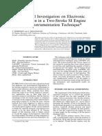 Inyeccion electronica en el motor de 2 tiempos