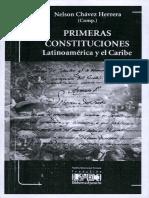 Primeras Constituciones Latinoamérica y El Caribe [1]