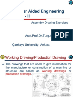 Assembly Drawing Exercises