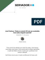 José Pacheco_ _Aulas No Século XXI São Um Escândalo