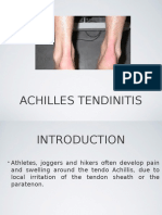 Achiles Tendinitis