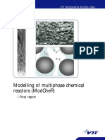 Modelling of multiphase chemical reactors