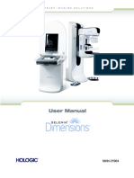 Mammography Unit Selenia Dimensions (3D) - User Manual