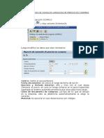 Instructivo Para Uso de Consulta Variacion de Precios en Compras