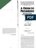 01 a Ordem Do Progresso