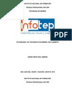Informe de Práctica Área de Topografía