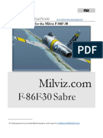 Milviz F86 User Guide
