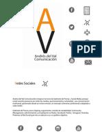 Presentación Redes Sociales. Andrés del Val Comunicación