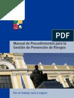 Manual de Procedimientos Para La Gestion de Prevencion de Riesgos (1)