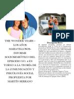 The Wonder Years Informe